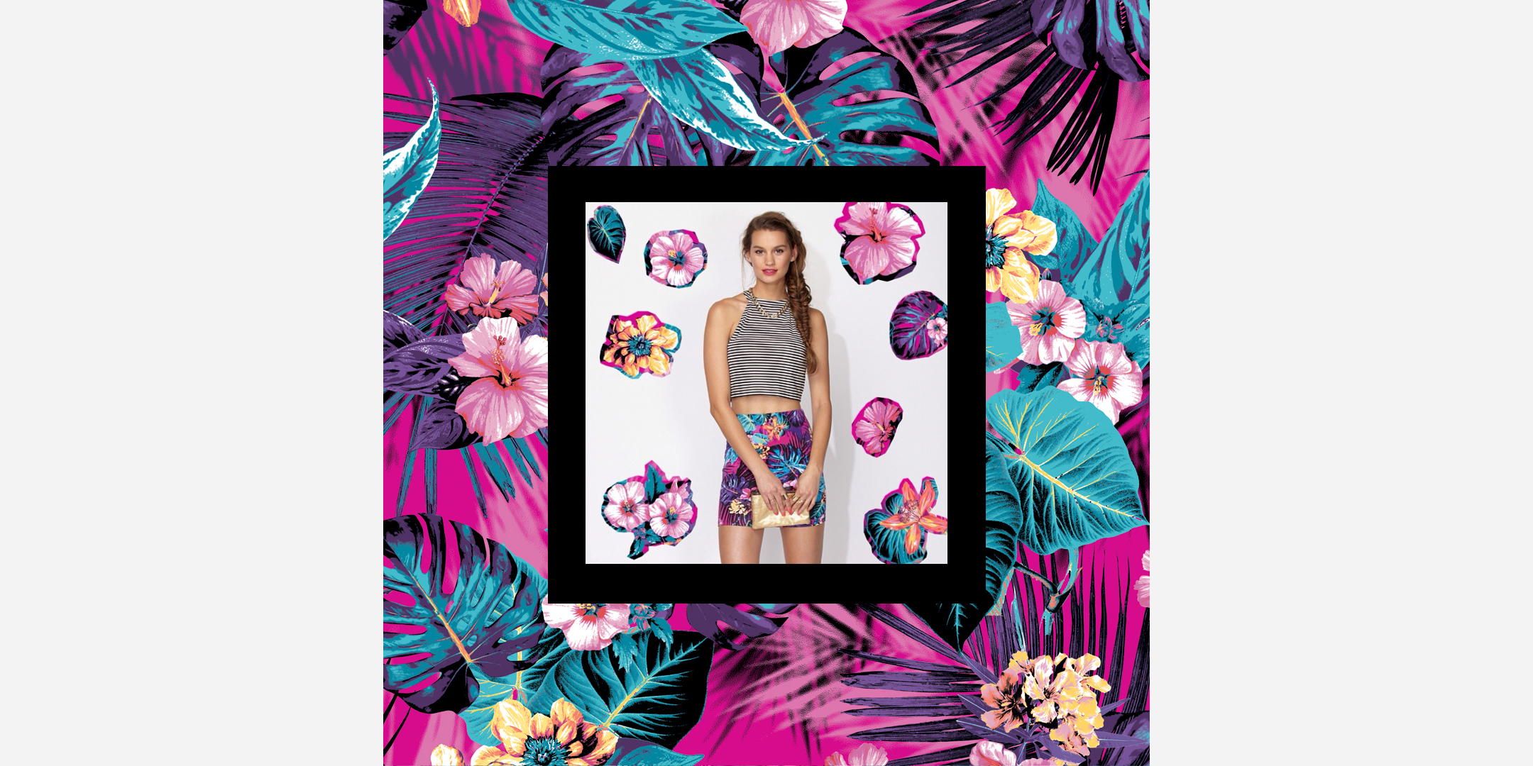 Tamara Design Services Tropical Print for Supre