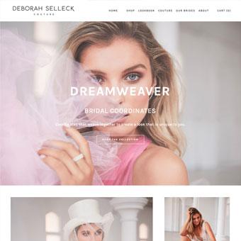 Deborah Selleck Couture Website