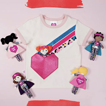 Pocket Squad Girls Dolls and Garment Collection