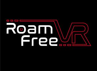 Roam Free VR logo design