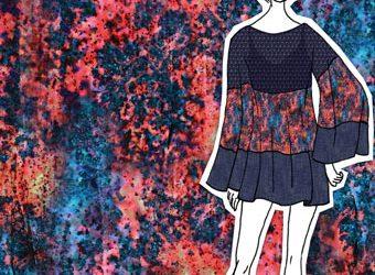 Summer Rain Textile Print