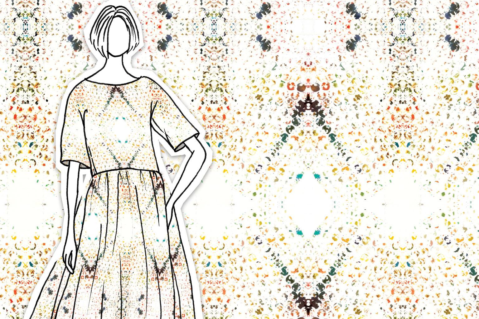 Tamara Design Services Aztec Diamond Print