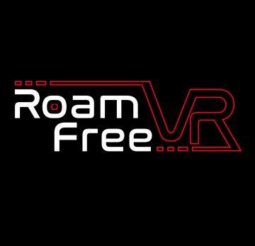 Roam Free VR logo