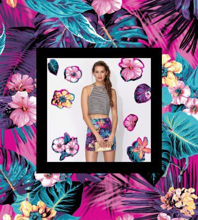 Tamara Design Services Tropical Print for Supre