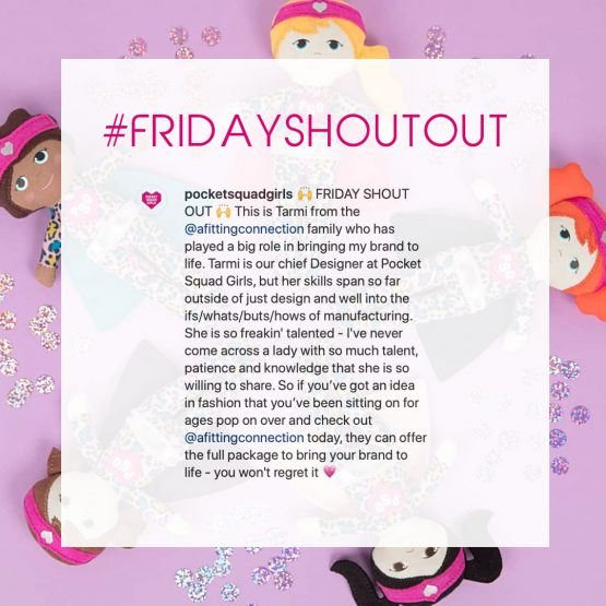 Friday Shout Out from Pocket Squad Girls