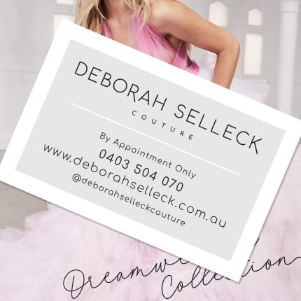 Deborah Selleck Couture Rebranding and Business Cards
